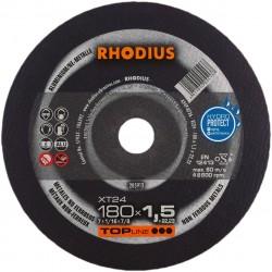 Rhodius XT24 TOP 180x1,5 tarcza do cięcia aluminium
