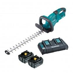 Makita DUH551PT2 akumulatorowe nożyce do żywopłotu