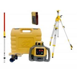 Topcon RL-H5A niwelator laserowy + czujnik LS-B10 + łata + statyw SJJ32