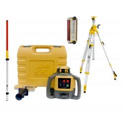 Topcon RL-H5A niwelator laserowy + czujnik LS-B110 + łata + statyw SJJ32