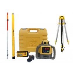 Topcon RL-H5A Digital niwelator laserowy + łata + statyw