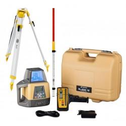 Topcon RL-200 2S Digital - niwelator laserowy + łata + statyw