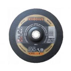Rhodius XTK70 230x1.9 tarcza do cięcia metalu inox