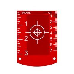 Nivel System TR-R tarczka do laserów czerwona wiązka