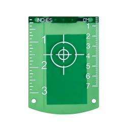 Nivel System TR-G tarczka do laserów zielona wiązka