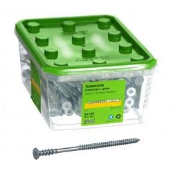 ESSVE 6,0 x 130 mm 100szt zestaw wkrętów ościerznicowych ocynk torx25