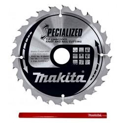 Makita Specialized B-09422 tarcza do drewna 190mm