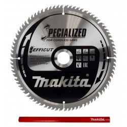 Makita Efficut B-67240 tarcza do drewna 260mm
