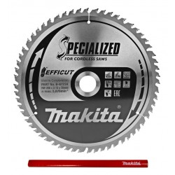 Makita Efficut B-67234 tarcza do drewna 260mm