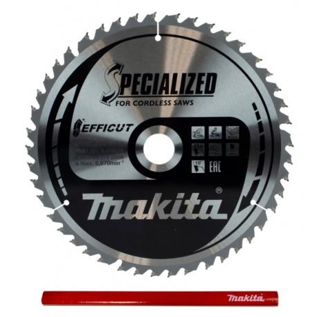 Makita Efficut B-64624 tarcza do drewna 260mm