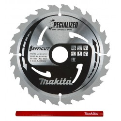 Makita Efficut B-64185 tarcza do drewna laminatu 190mm