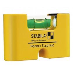 Stabila kieszonkowa poziomica dla elektryków