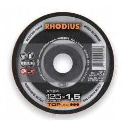 Rhodius XT24 fi 125x1,5 tarcza do cięcia aluminium