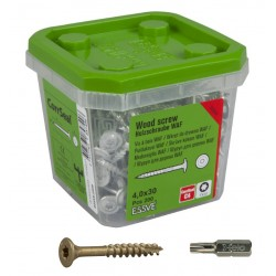ESSVE 4,0 x 30 mm 200szt zestaw wkrętów Corrseal