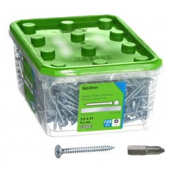 ESSVE 3,5 x 41 mm 900szt zestaw wkrętów do płyt stali