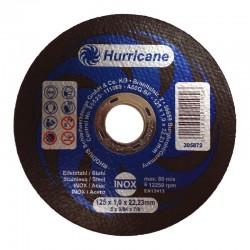 Hurricane 125x1.0 tarcza do cięcia metal inox