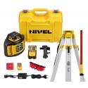 Nivel System NL520 niwelator + łata + statyw