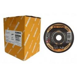 Rhodius XT70 125x1,0 INOX 100szt tarcza do metalu