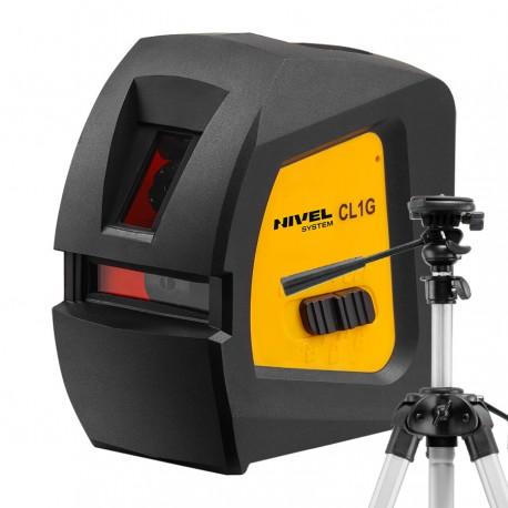 Nivel System CL1G zielony laser krzyżowy + statyw