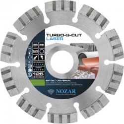 Nozar Turbo-S-Cut 125 mm tarcza do cięcia
