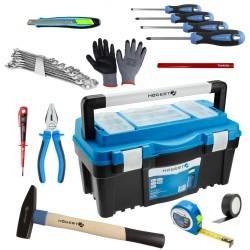 Skrzynka narzędziowa z wyposażeniem na prezent MIN