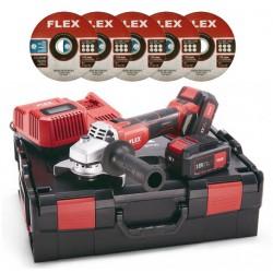 Flex L 125 szlifierka kątowa 18.0-EC/5,0 SET