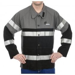 Weldas 38-4355 kurtka spawalnicza z odblaskami