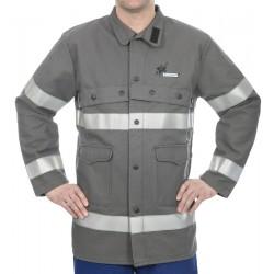 Weldas 38-4335 kurtka spawalnicza z odblaskami