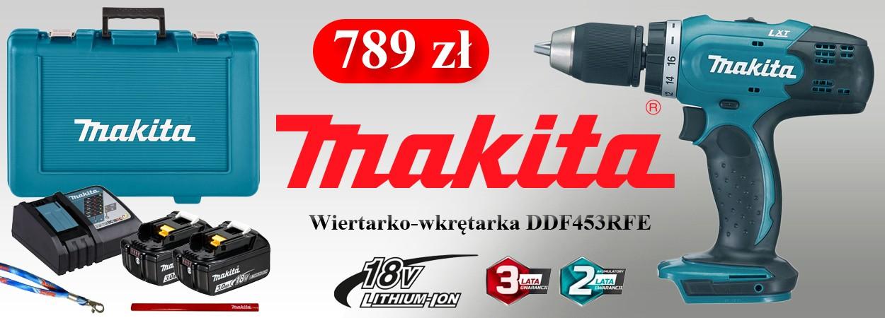 Promocja - Makita DDF453RFE