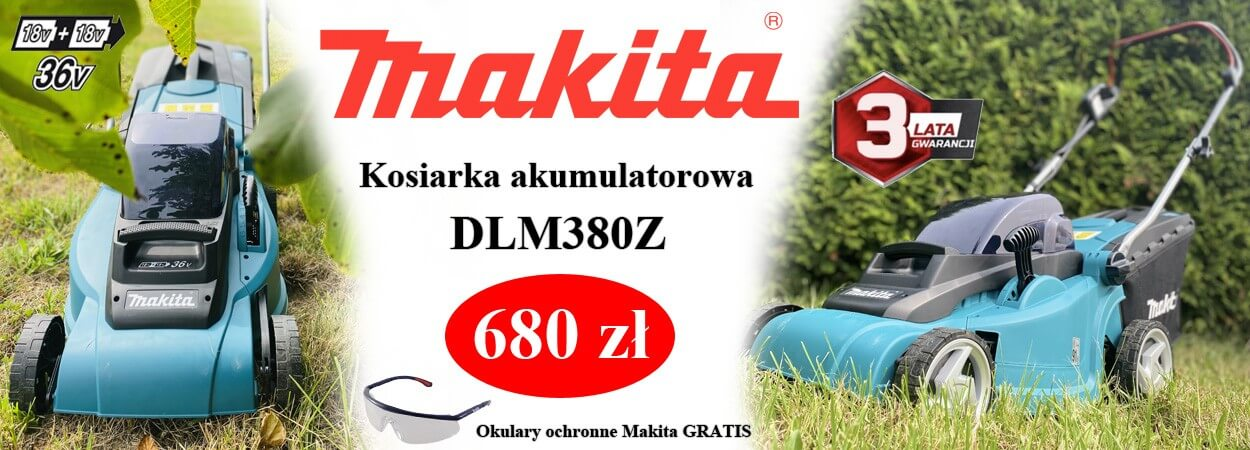 Promocja - Makita DLM380Z kosiarka akumulatorowa