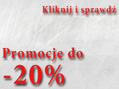 Promocje do - 20%